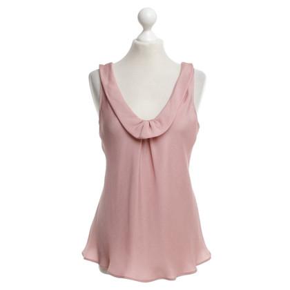 Armani Top in blush pink