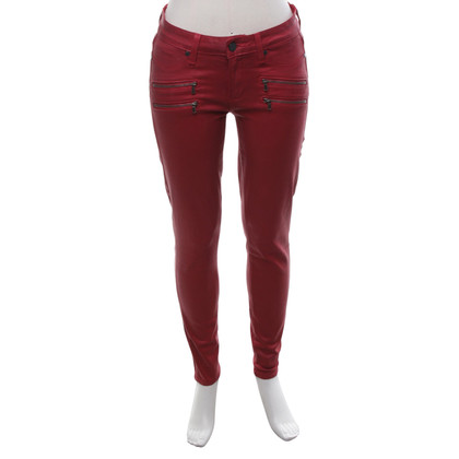 Paige Jeans Jeans in Dunkelrot