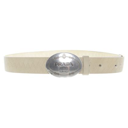 Prada Cintura con vimini-look