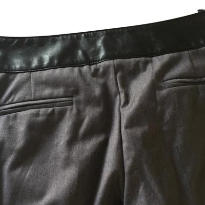 Elisabetta Franchi Pantaloni grigi grandi