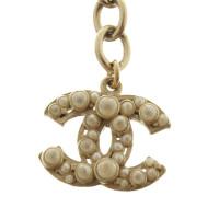 Chanel Beaded bracelet in white