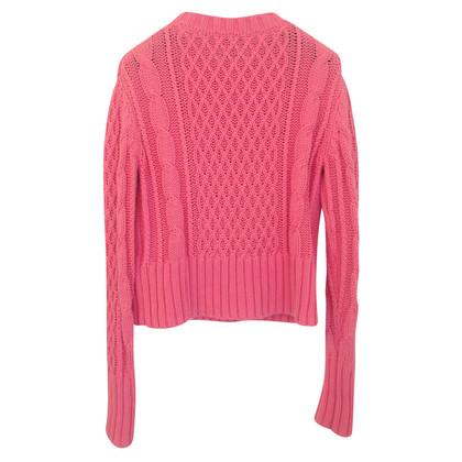 Acne pull en tricot en rose