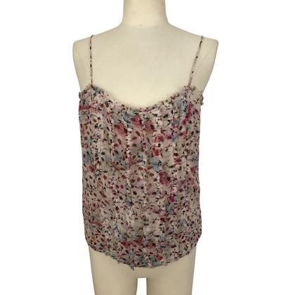 Diane von Furstenberg Strapless top made of silk