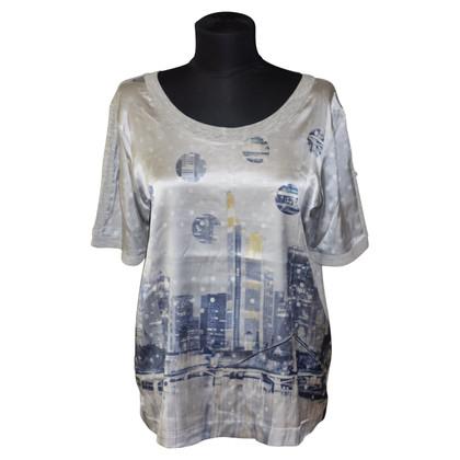 Marc Cain Seiden-Shirt mit Print