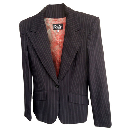 D&G Striped suit