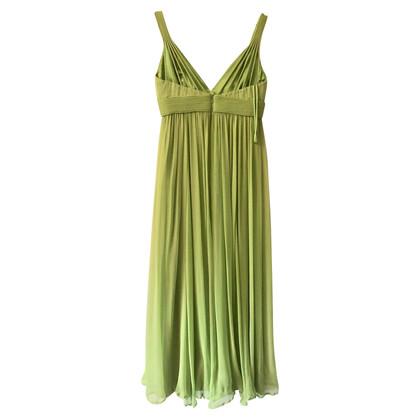 Roberto Cavalli Green silk dress