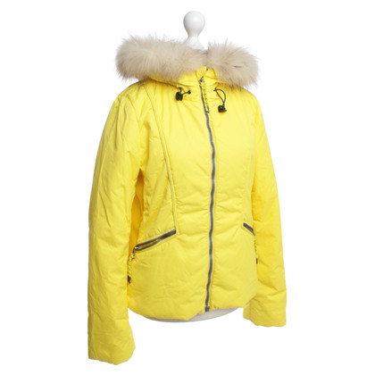Jet Set Ski jacket with real fur