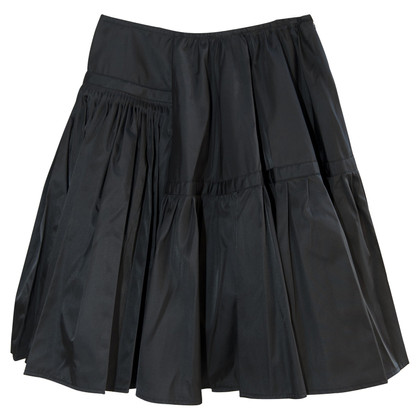 Prada Skirt - Gabardine nylon, black