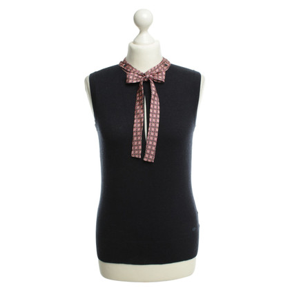 Escada Tricot shirt in blauw
