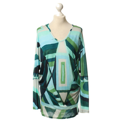 Emilio Pucci top with colorful pattern