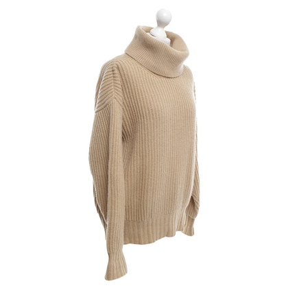 MSGM Knitted pullover in beige