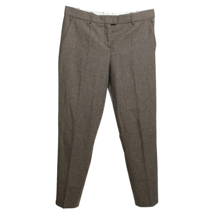 Hugo Boss trousers with Vichy pattern