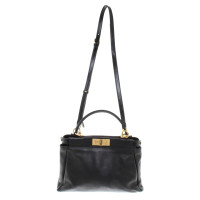 """Fendi """"Peekaboo Bag"""" in black"""