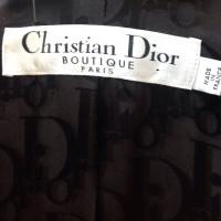 Christian Dior Schwarzer Mantel