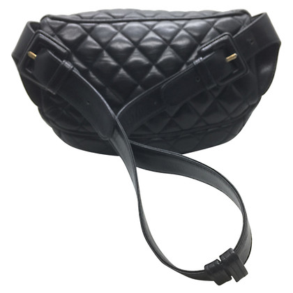 Chanel  Lambskin Fanny Pack Waist Black
