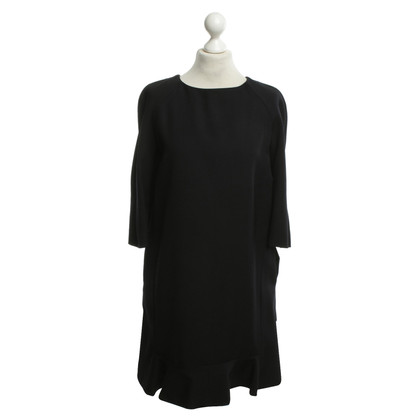Marni short sleeve black dress