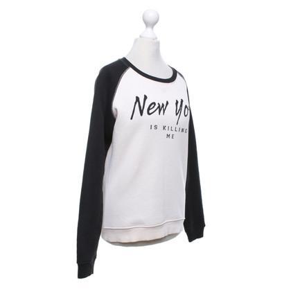 Zoe Karssen Sweat-shirt en noir / rose