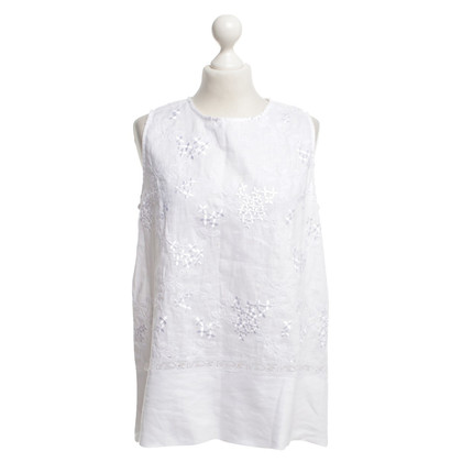 Ermanno Scervino Top with embroidery