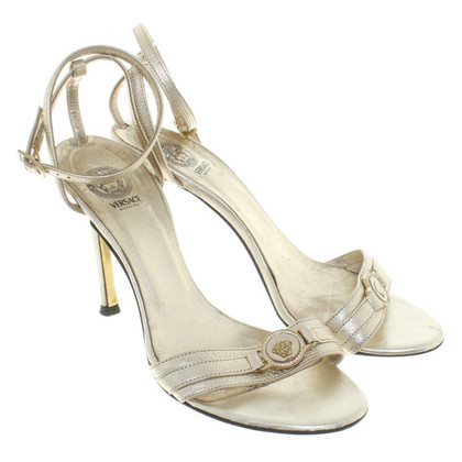 Versace Gold colored sandals