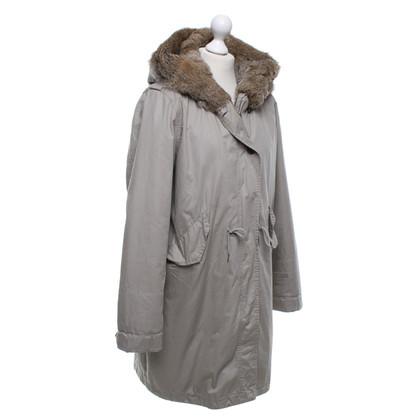 Woolrich Parka en gris clair