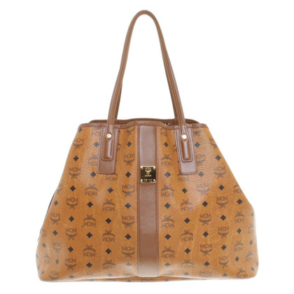 MCM Modello Monogram shopper