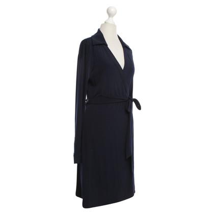 Calvin Klein Wrap dress in dark blue