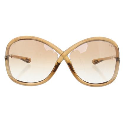 Tom Ford Sonnenbrille in Ocker