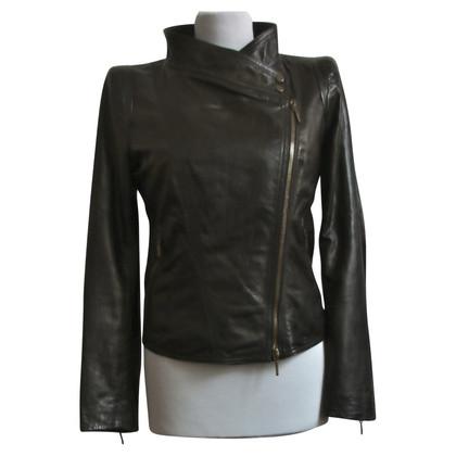 Plein Sud Black biker jacket