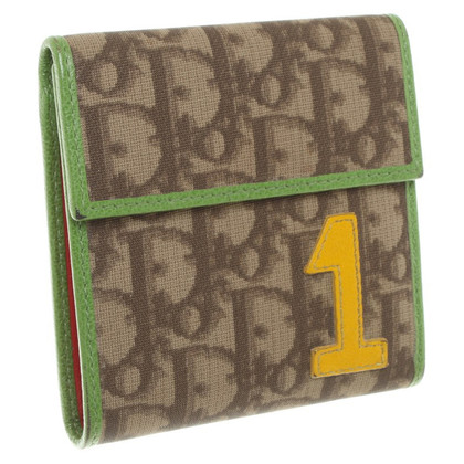 Christian Dior Wallet with Monogram Print