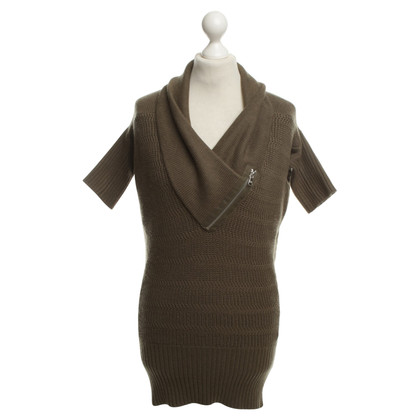 Patrizia Pepe Knitted Dress in Olive