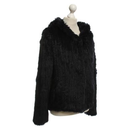 Oakwood giacca di pelliccia in blu