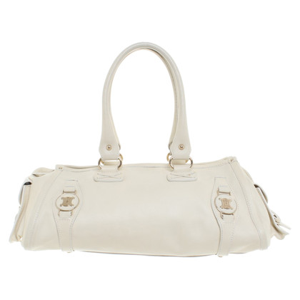 Céline Leather handbag purse cream white