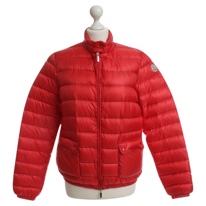 Moncler Down jacket in red