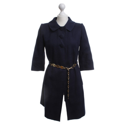 Milly Cappotto in blu scuro con un'interfaccia