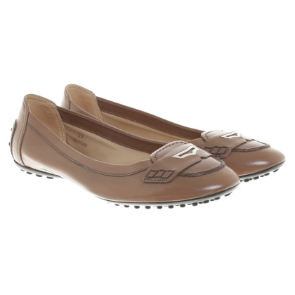 Tod's Ballerinas in brown