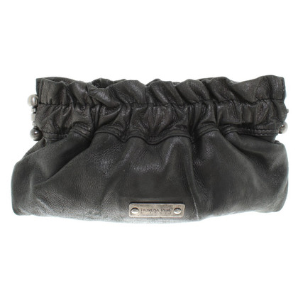 Patrizia Pepe clutch with link chain