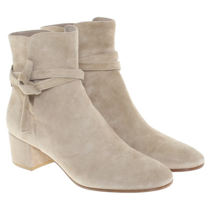 Gianvito Rossi Ankle boots in beige