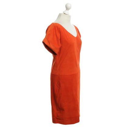 Ralph Lauren Kleid aus Leder