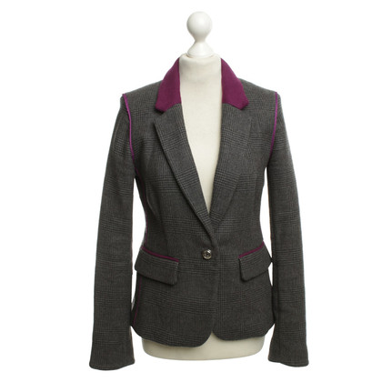 Juicy Couture Karierter Wollblazer