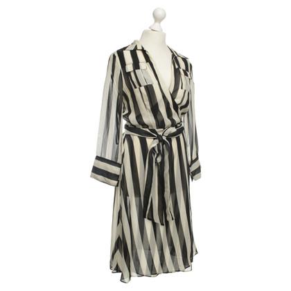Diane von Furstenberg Striped wrap dress