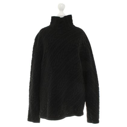 Jil Sander Trui met kabel knit