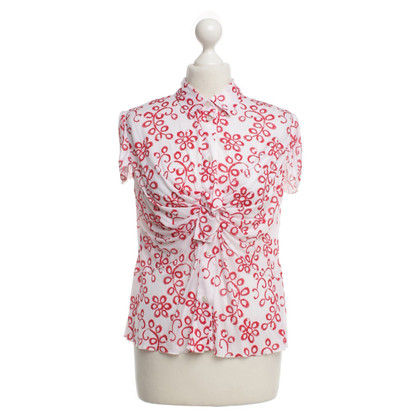 Prada top with floral pattern