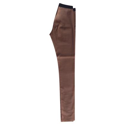 Neil Barrett élégant pantalon en cuir par Neil Barret