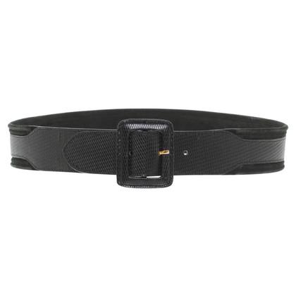 Giorgio Armani Waist belt in black