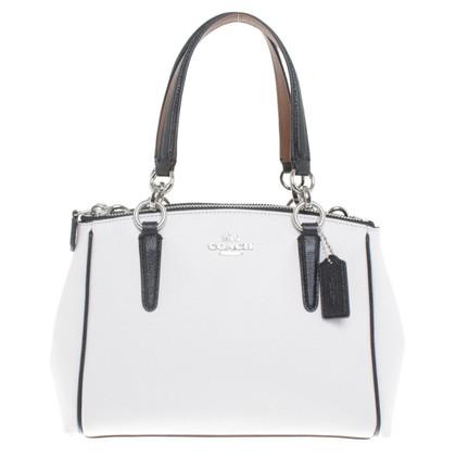 Coach Handbag in cream white