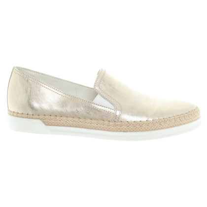 Tod's Slipper with metallic effect