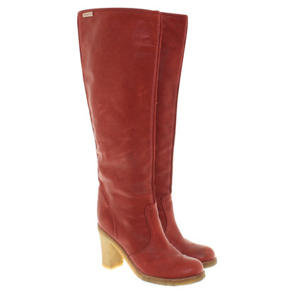 See by Chloé Boots in Red