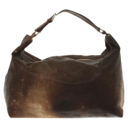 P.A.R.O.S.H. Handbag with fur trim