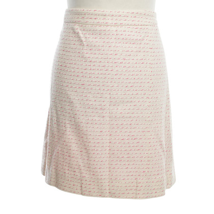 Moschino Bouclé-skirt in Bicolor