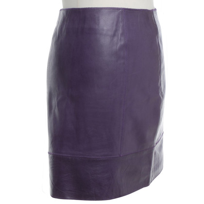 Ferre skirt in leather